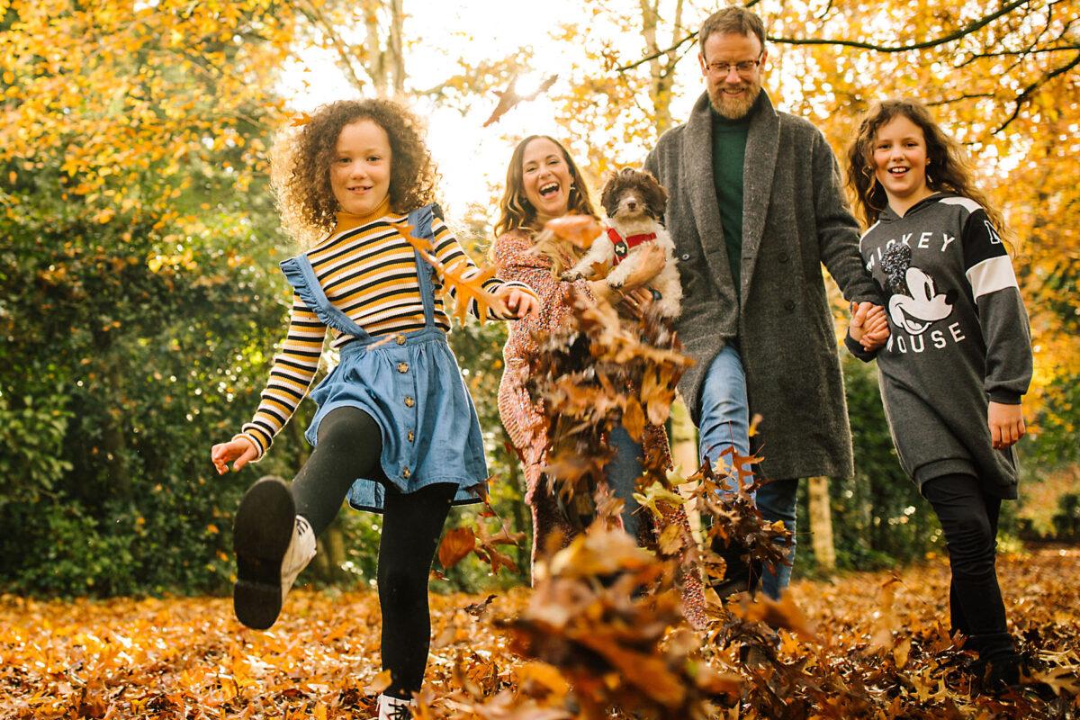 Autumn Manchester Family Photoshoot