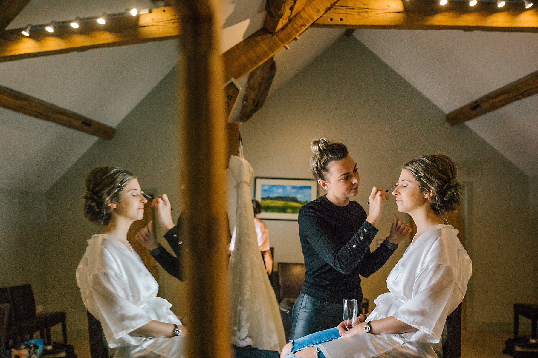 bridal makeup at arley hall
