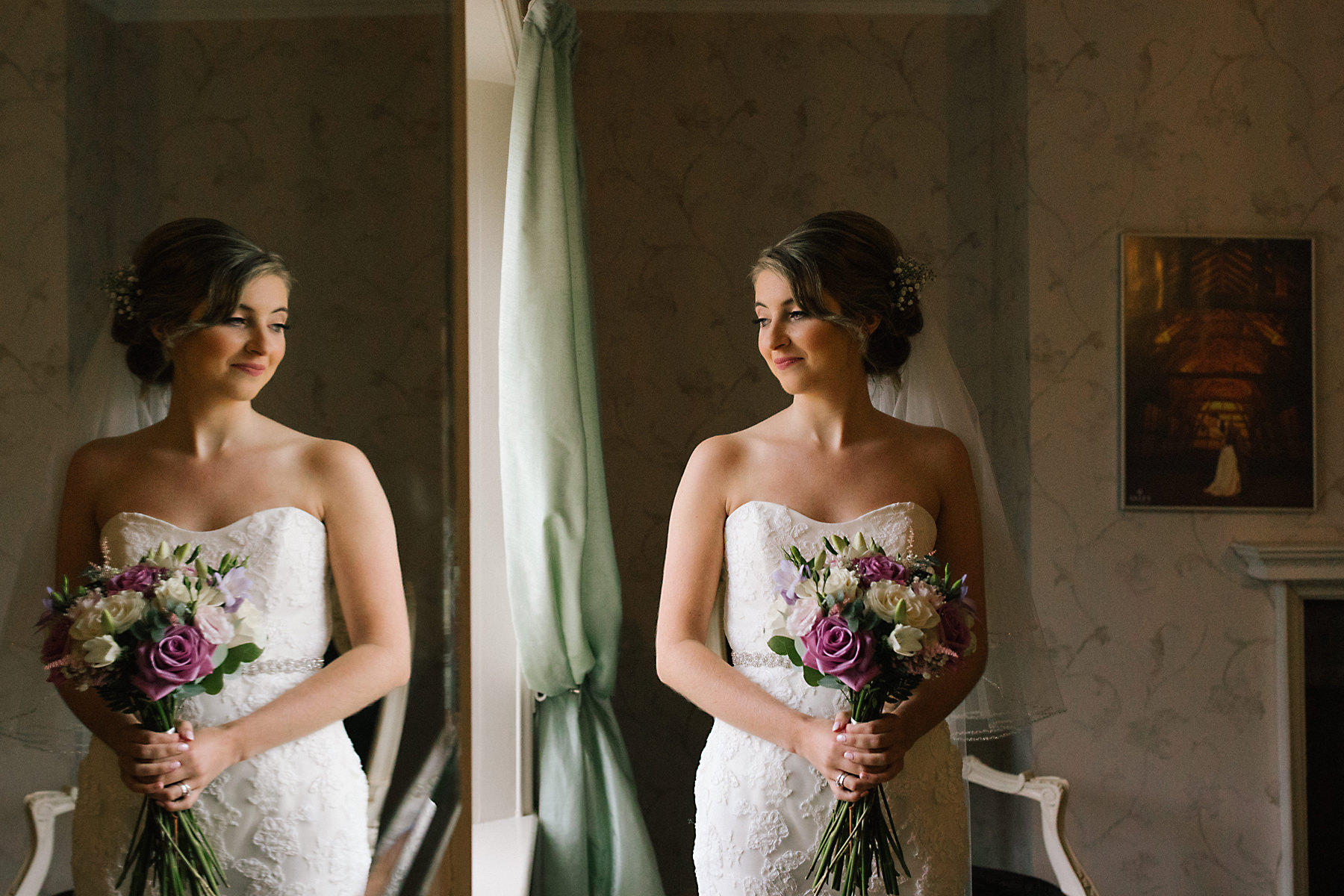 bride portrait at arley hall