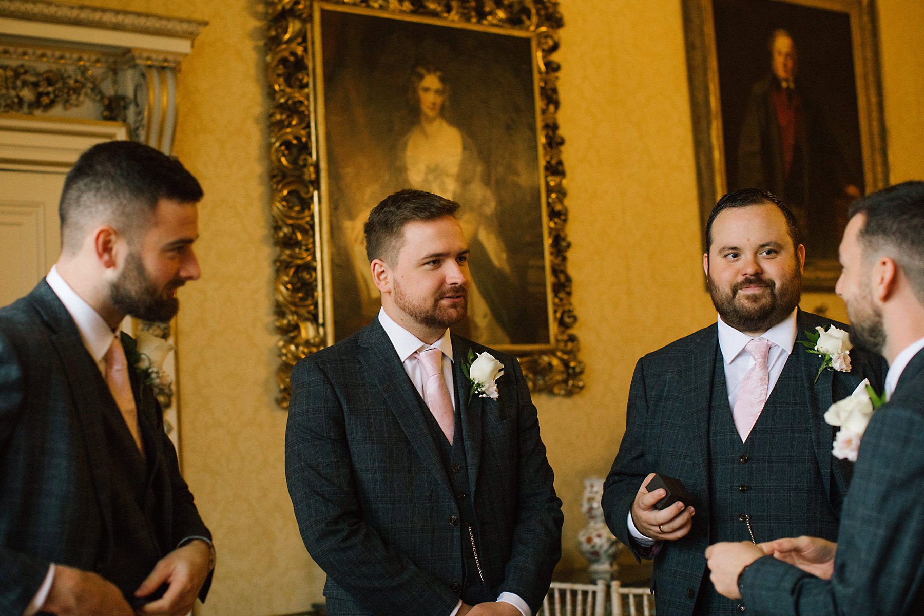 groomsmen at arley hall