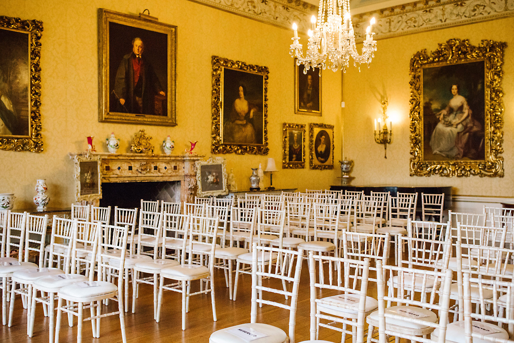 arley hall ceremony room