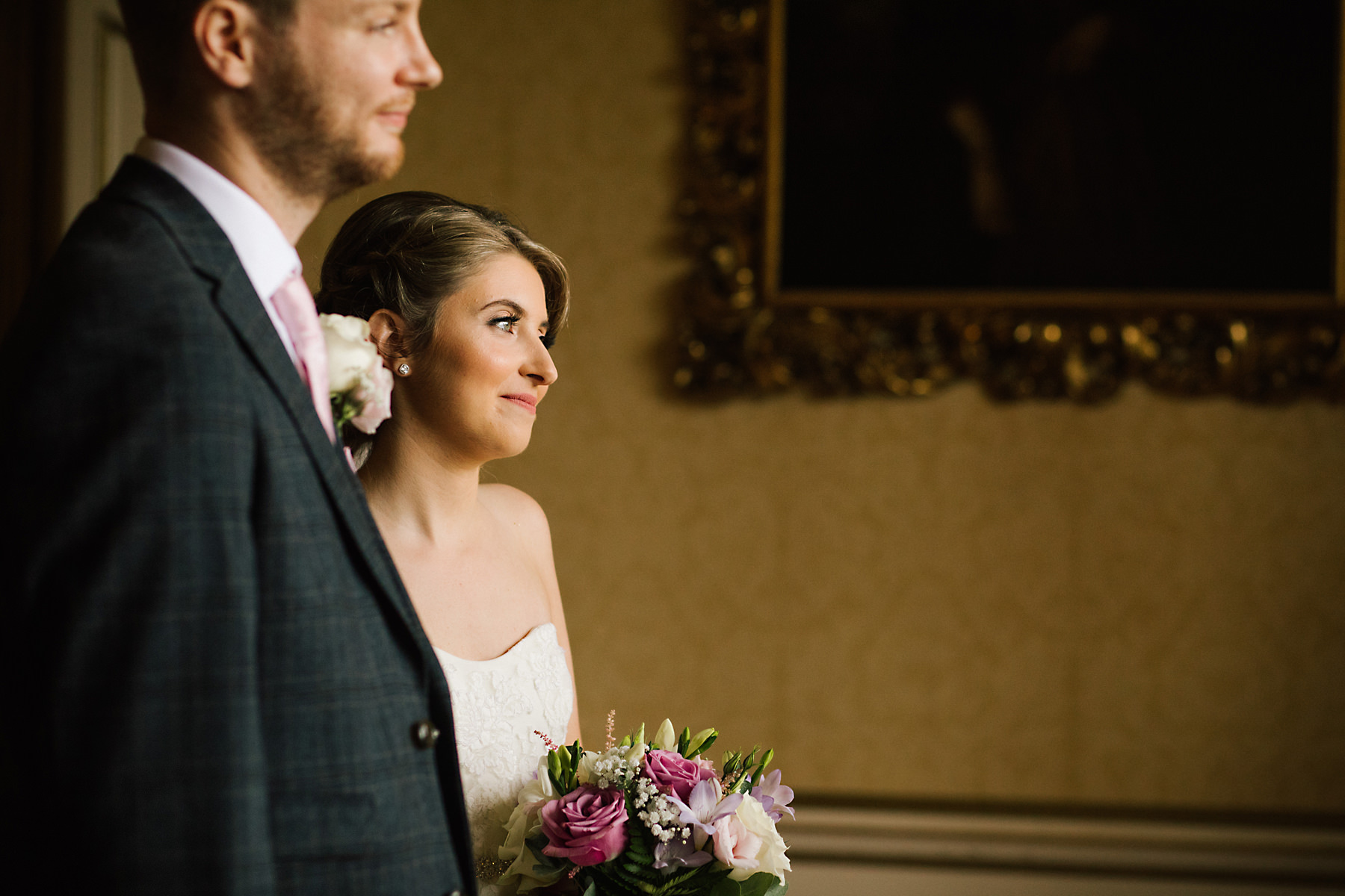arley hall wedding ceremony