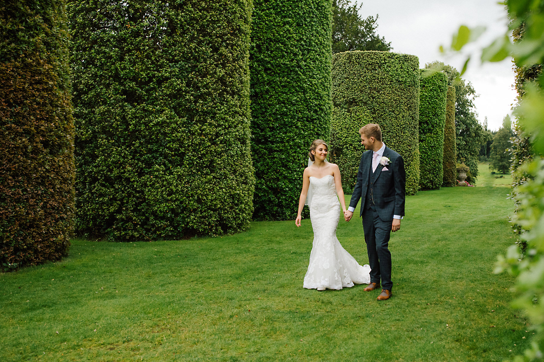 arley hall gardens wedding