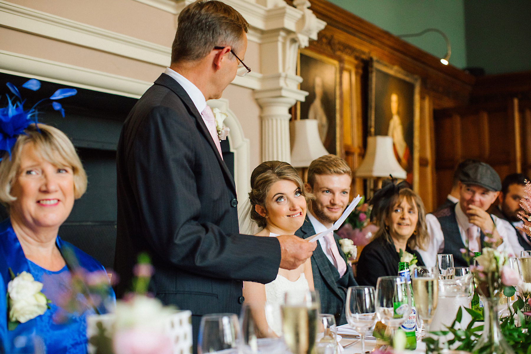 arley hall wedding speeches