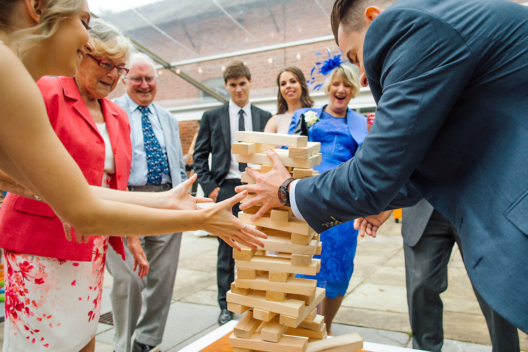 giant jenga wedding hire