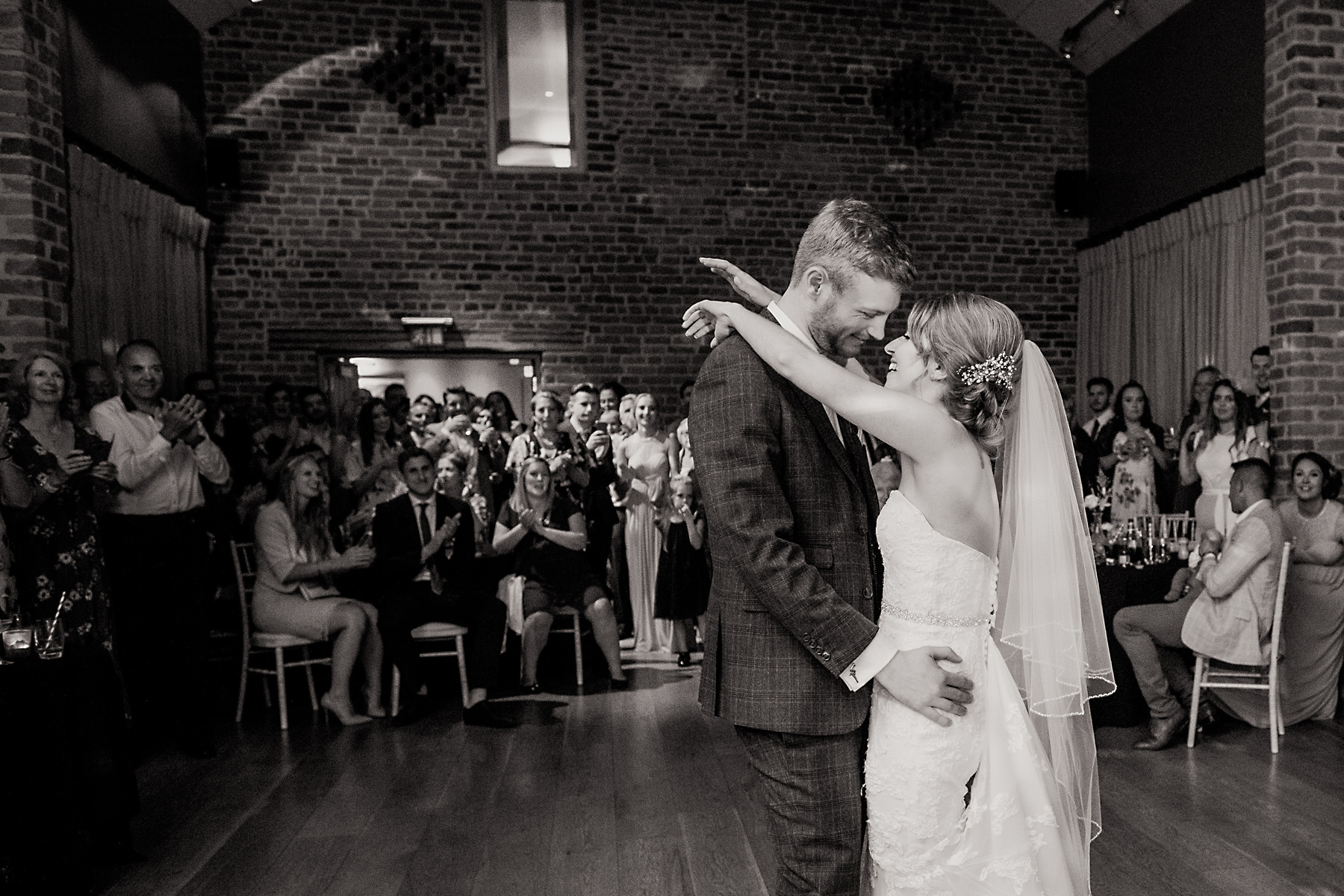 arley hall first dance photo