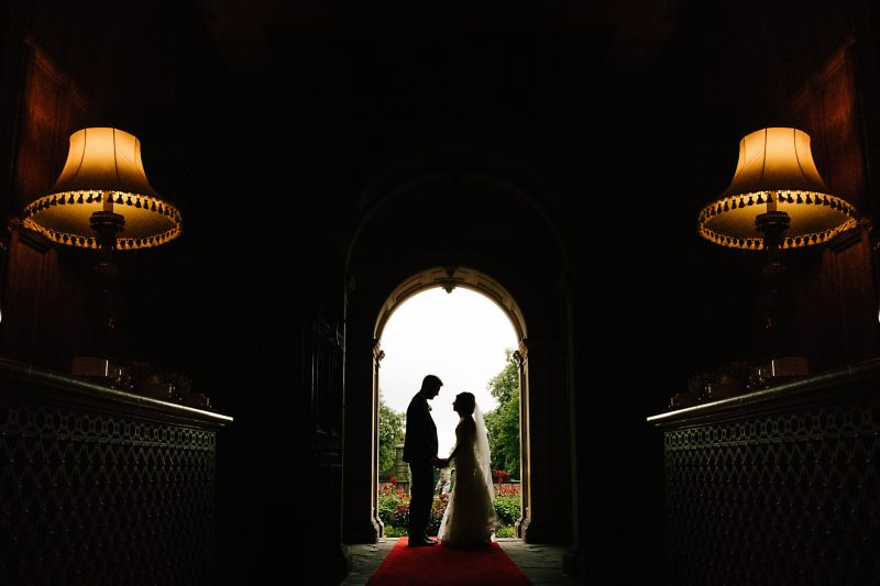 arley hall silhouette photo