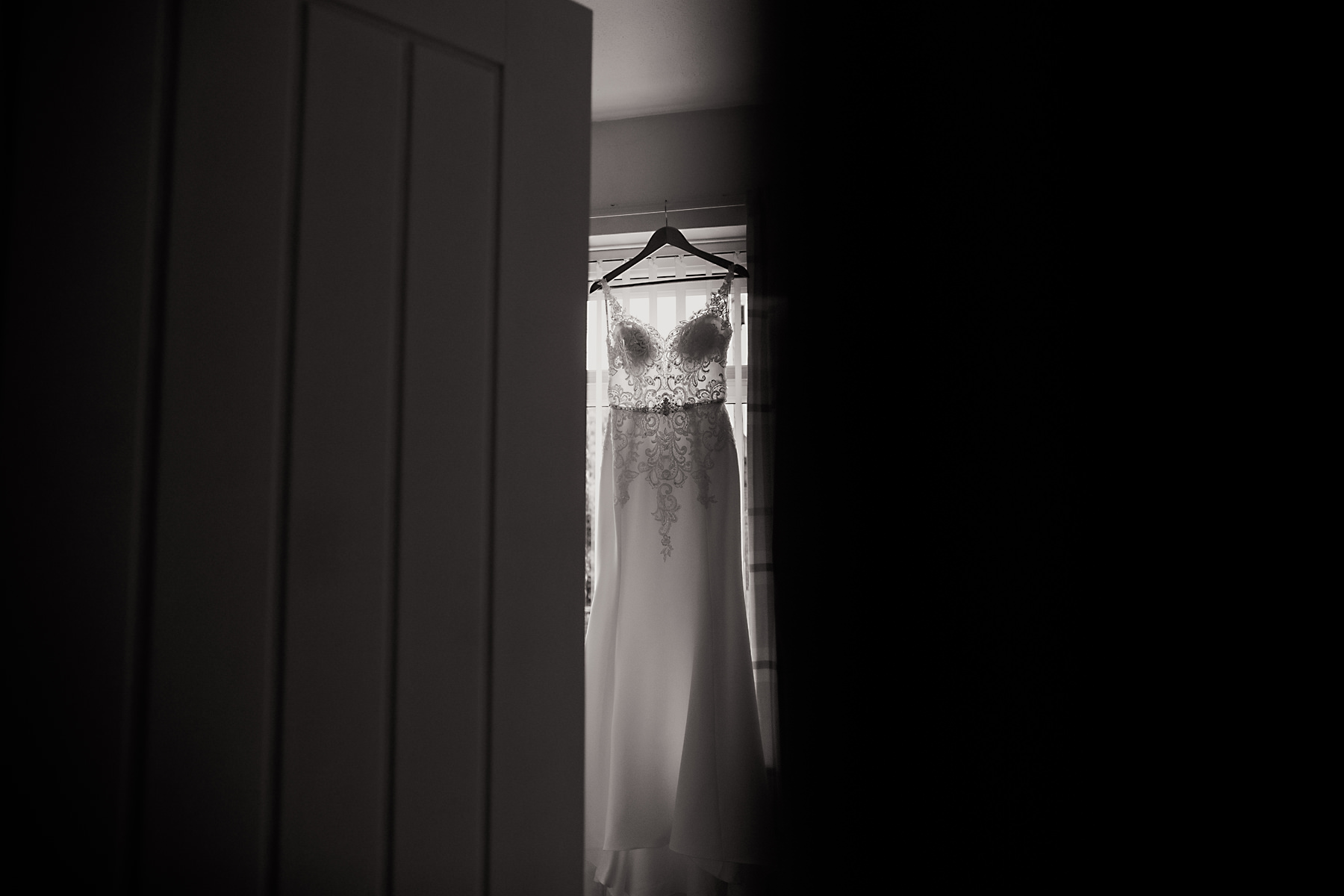 wedding dress window photo