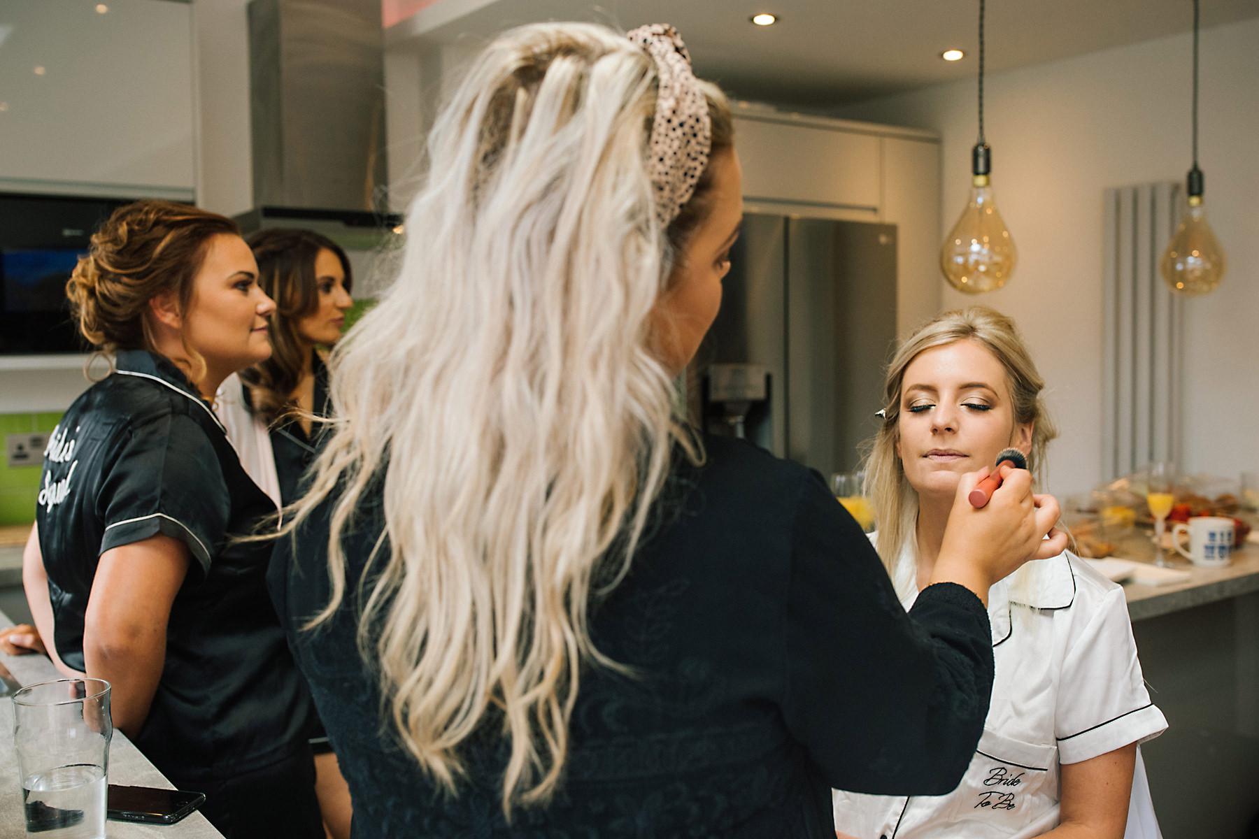 manchester bridal makeup artist