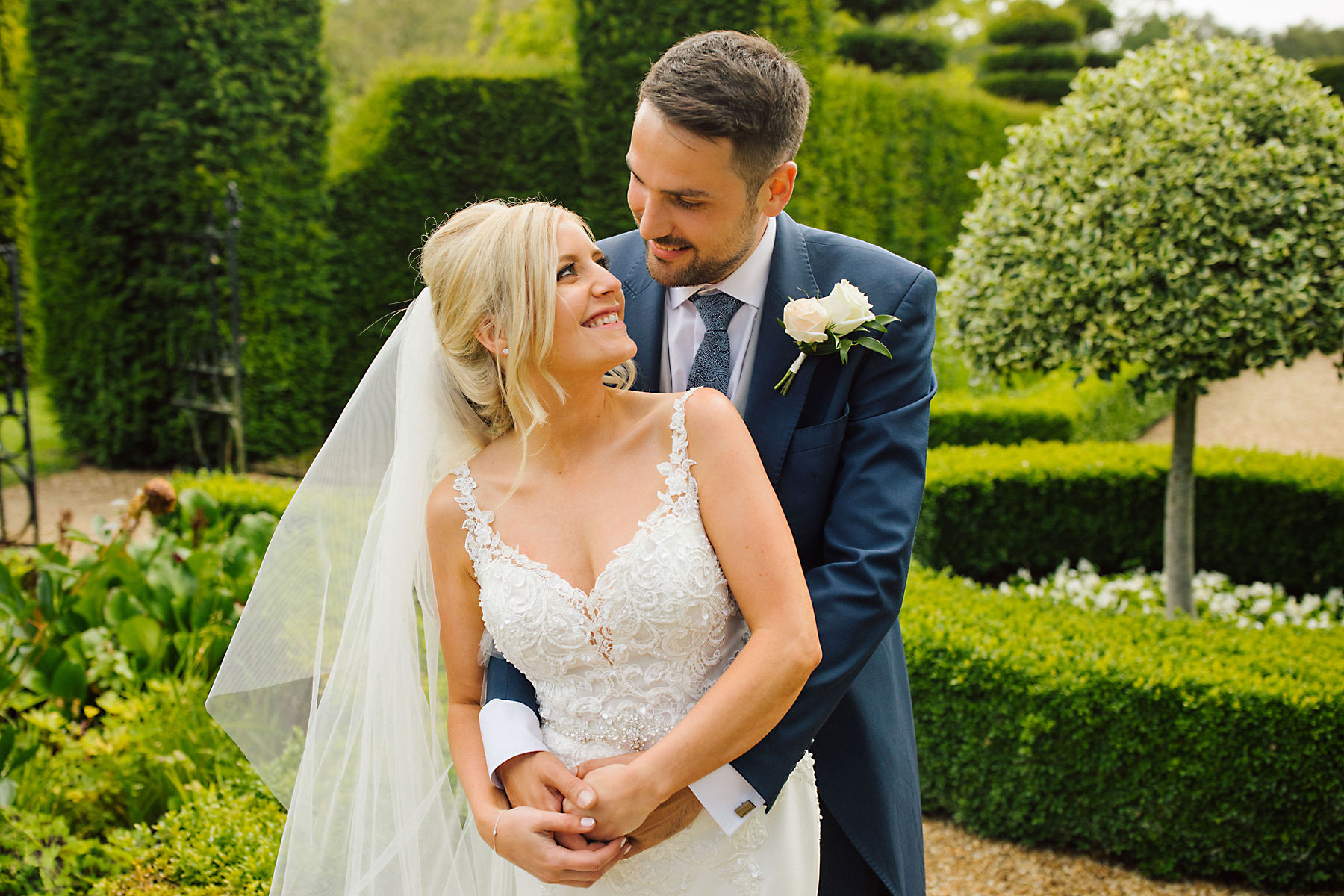 garden wedding at the holford estate