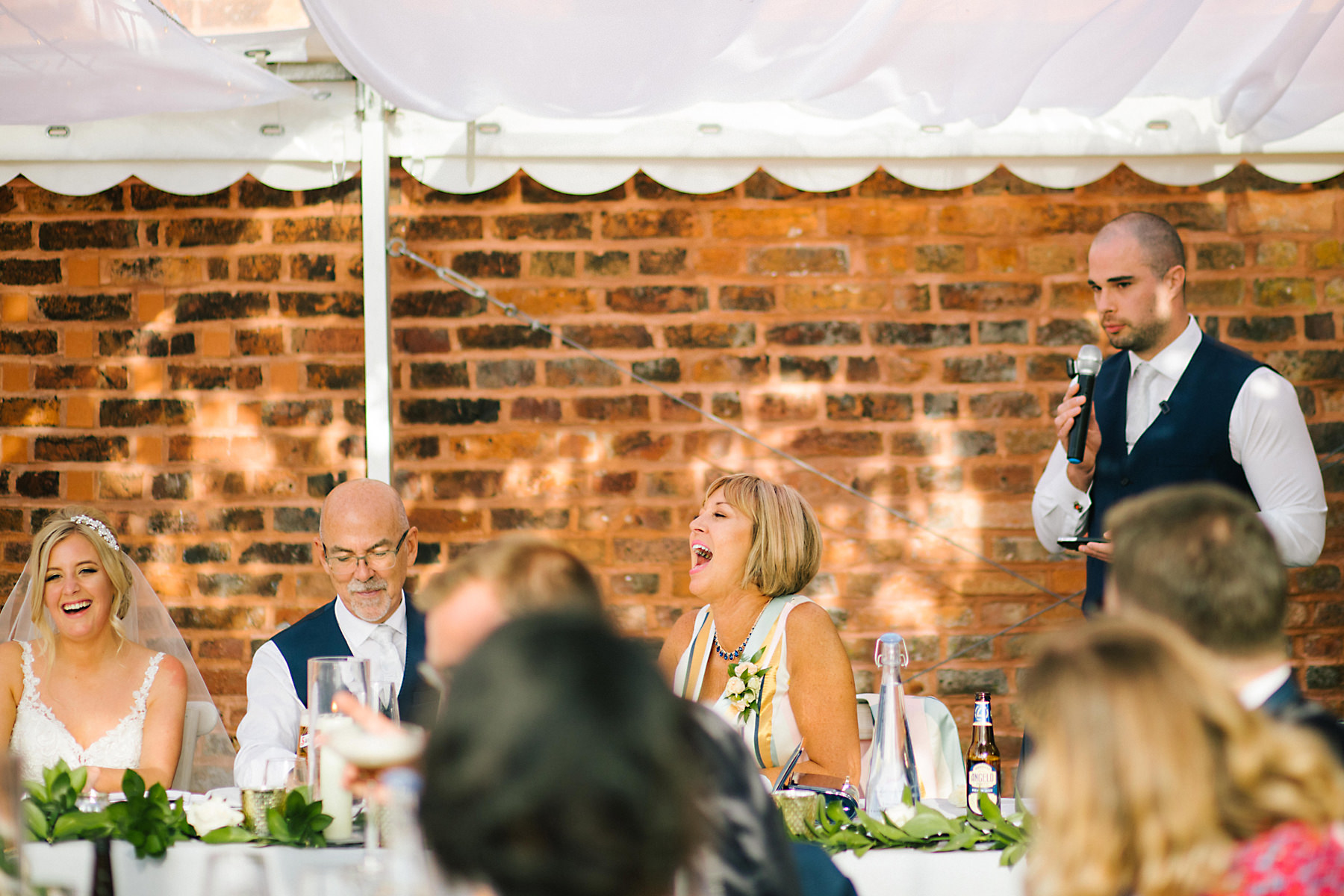 speeches at a wedding
