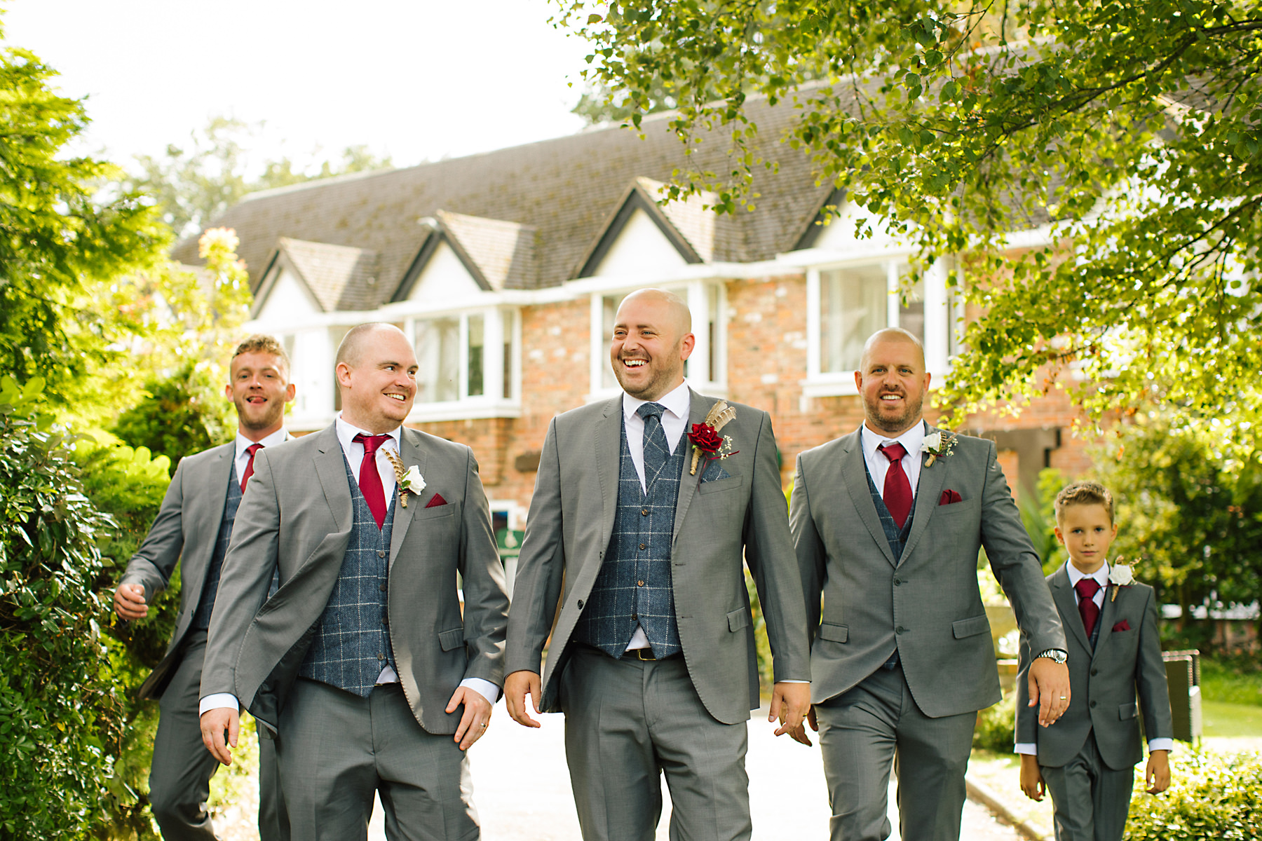 group photos at chimney house hotel