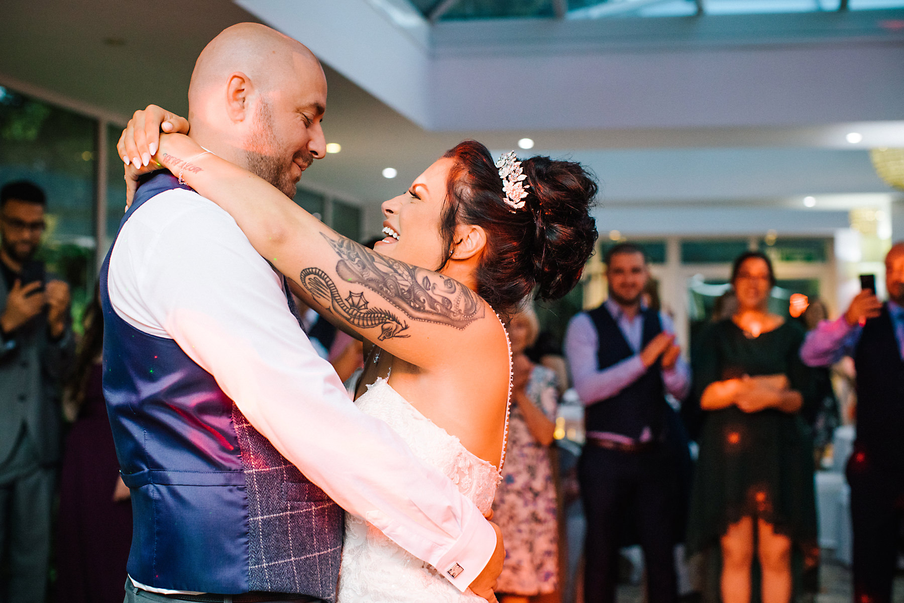first dance chimney house hotel
