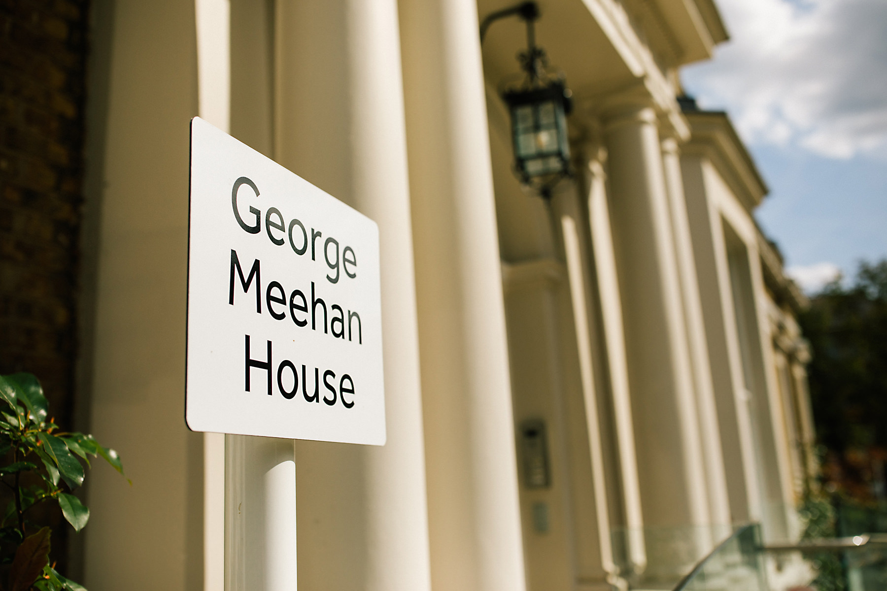 george meehan house wedding