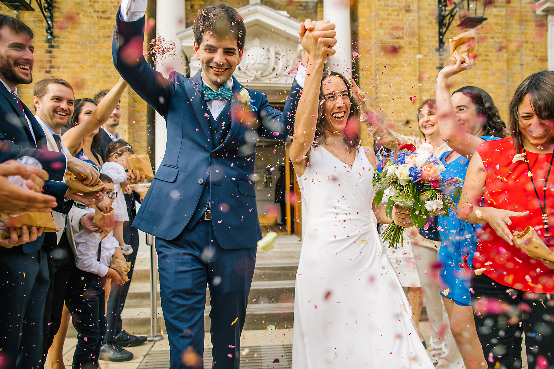 confetti photograph london