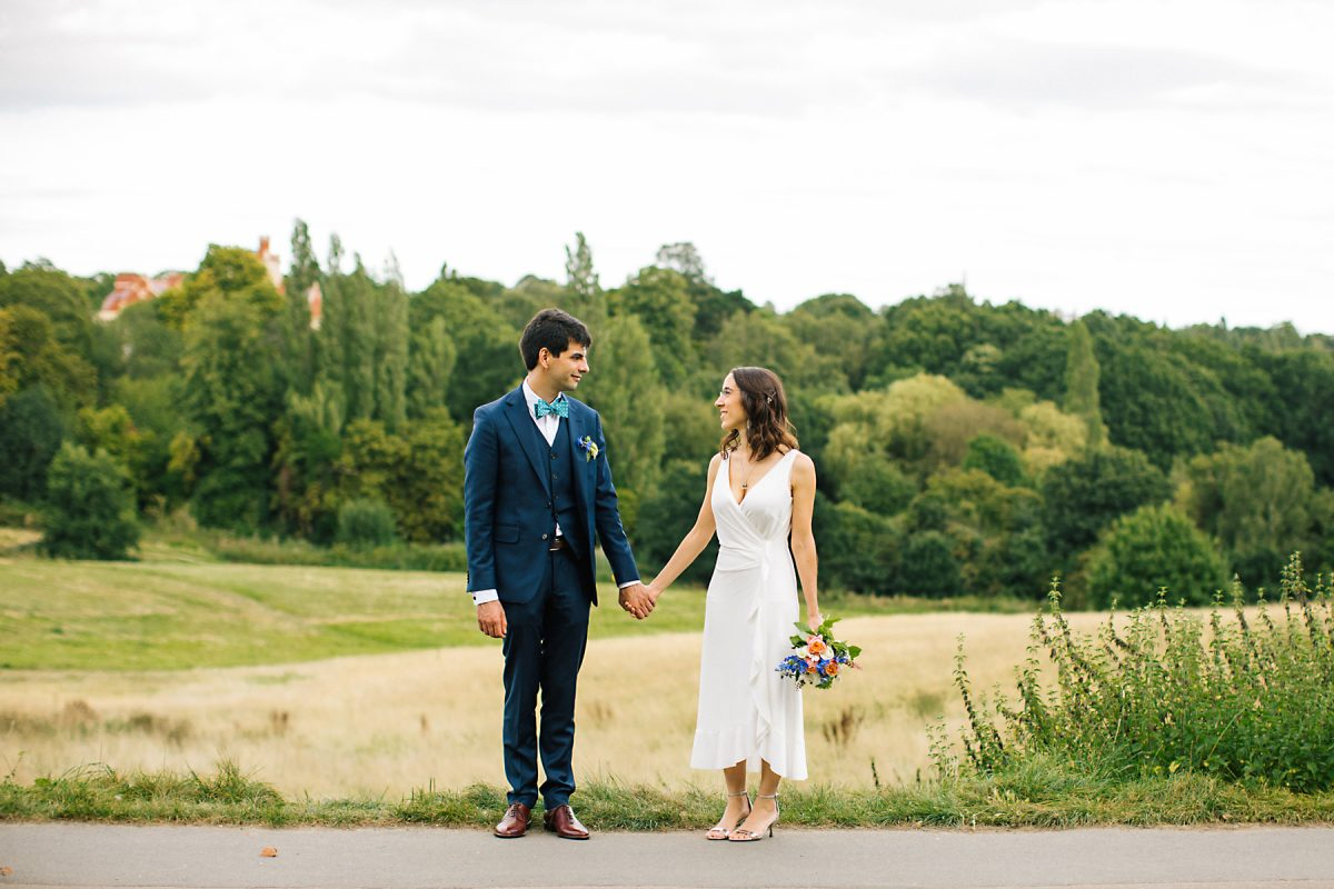 Hampstead heath wedding photographer