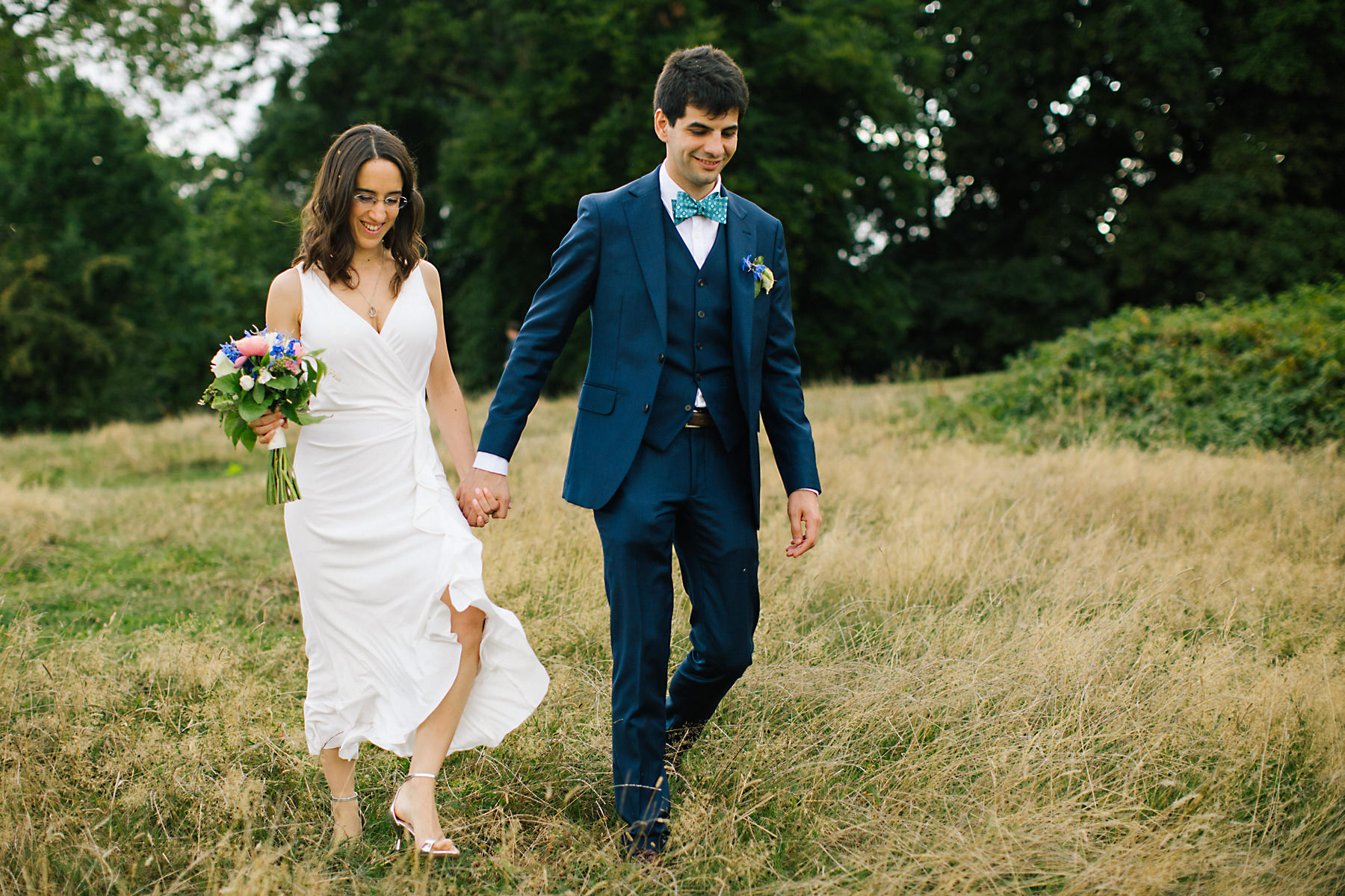 Hampstead heath wedding
