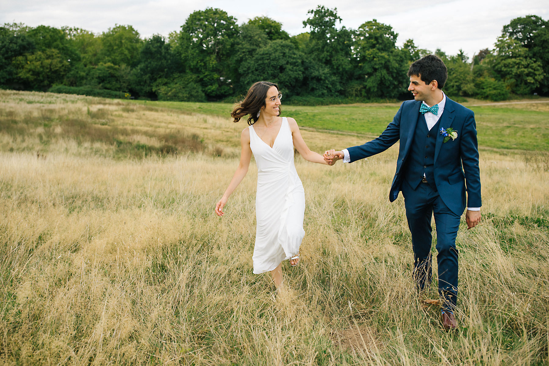 Hampstead heath wedding photography