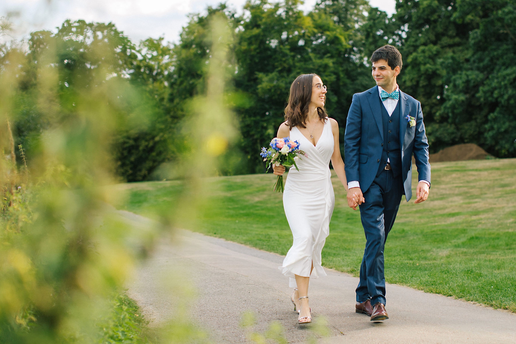 Hampstead heath wedding photos