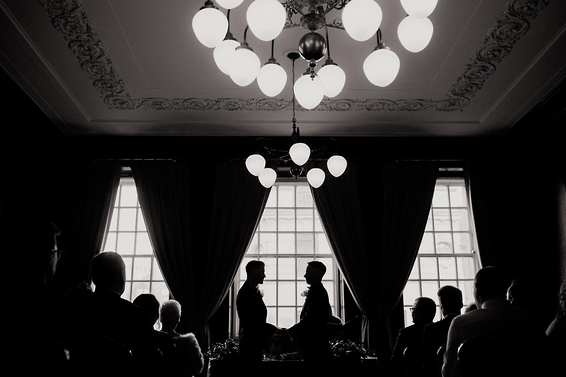 manchester hall wedding photos